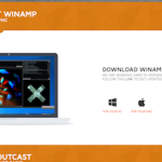 Winamp Webseiten Screenshot