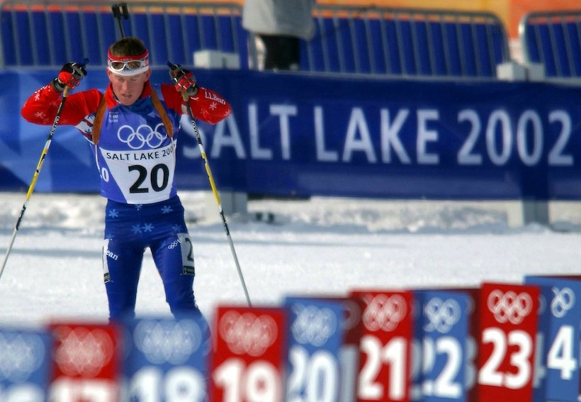 Biathlon Athlet